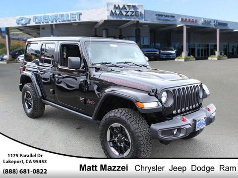 New 2019 JEEP Wrangler Unlimited Rubicon 4x4 Sport Utility