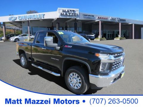 Pre-Owned 2020 Chevrolet Silverado 2500HD LTZ 4WD 4D Double Cab