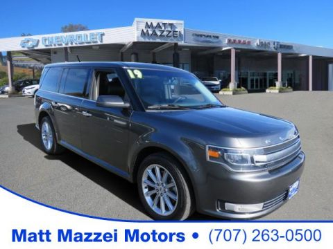 Pre-Owned 2019 Ford Flex Limited FWD 4D Sport Utility