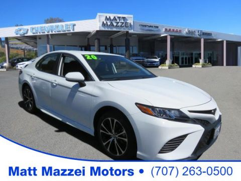 Pre-Owned 2020 Toyota Camry SE FWD 4D Sedan