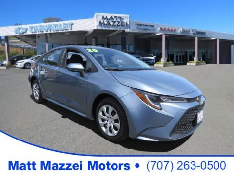 Pre-Owned 2020 Toyota Corolla LE FWD 4D Sedan